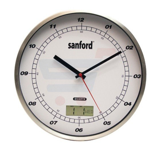 Sanford Analog and Digital Wall Clock - SF051WC