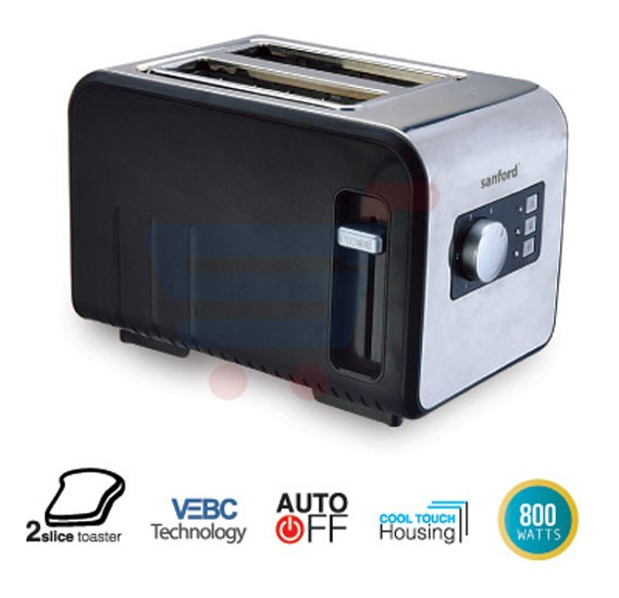 Sanford Bread Toaster SF5753BT BS