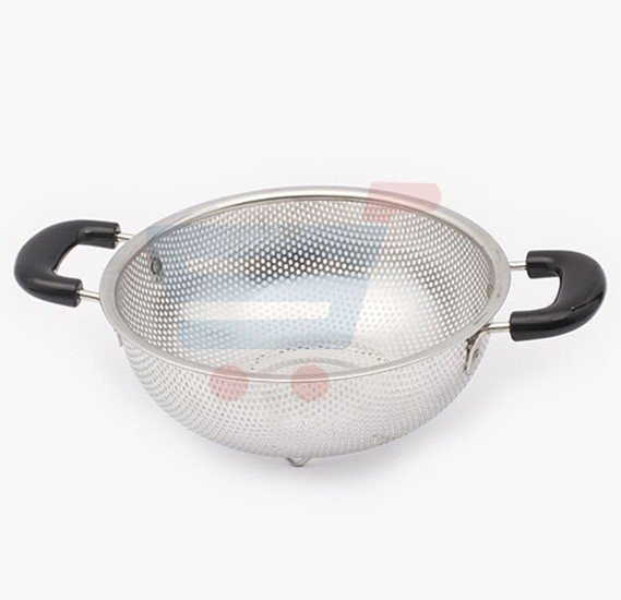 Royalford Stainless steel Strainer Basket 22CM Silver - RF5403