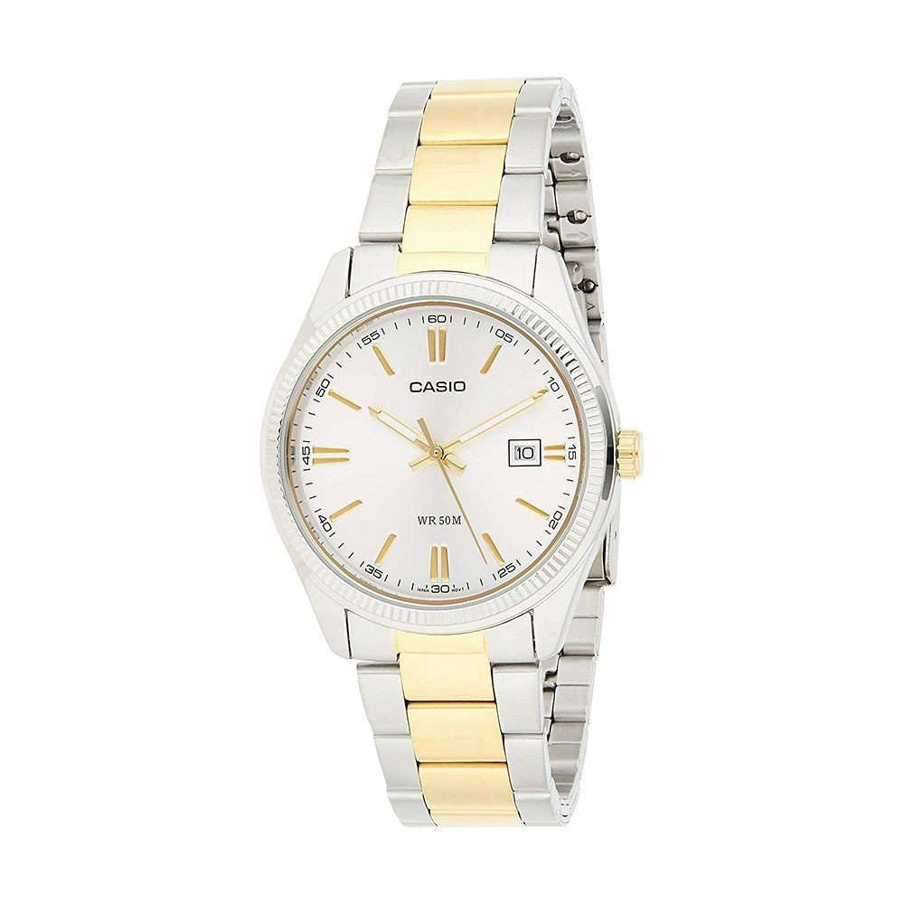 Casio Enticer Analog Silver Dial Mens Watch, MTP-1302SG-7AVDF
