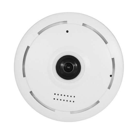 360 Degree WIFI Camera V380 Pro - HD 1080P - Wi-Fi Globe Panoramic Camera -  Fish eye P2P IP camera - IR Night Vision Home Security Surveillance CCTV