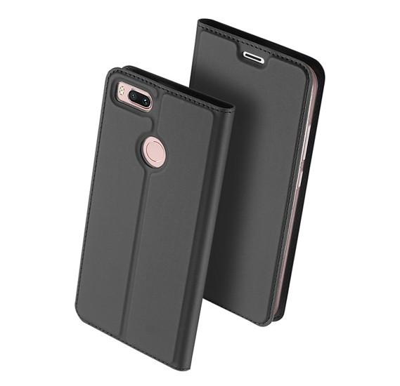 separation shoes f14ec 4c8c8 Xiaomi Mi A1 Leather Flip Wallet Black