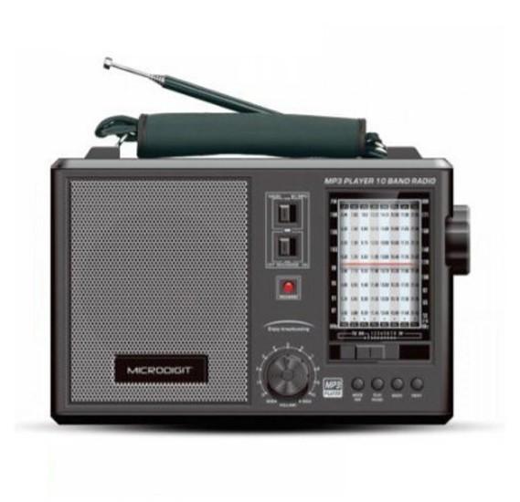 Microdigit Smart FM Radio, MRS008T