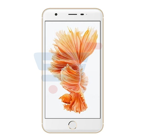 Mione X8 Smartphone 4G, Android 5.1(Lollipop) 5.2 inch IPS HD Display, 3GB RAM, 32GB Storage, Dual Sim, Dual Camera- Gold