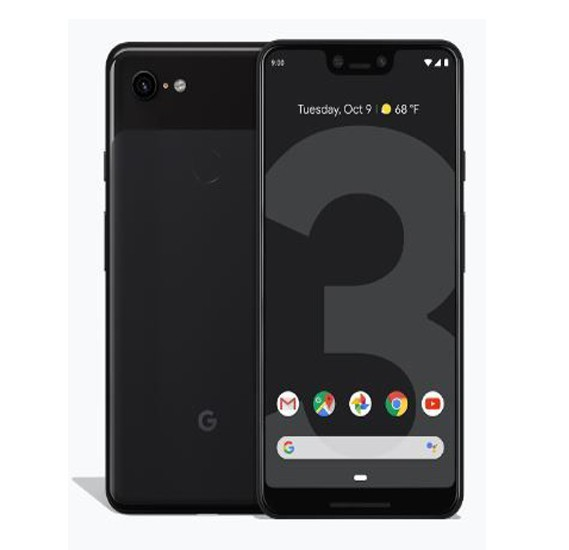 Google Pixel 3 XL - 128GB, 4GB RAM, 4G LTE, Just Black