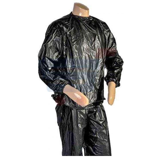 Black Sauna Suit Size S
