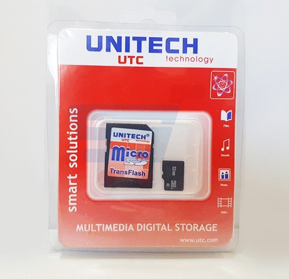 Unitech Multimedia Digital Storage Device 32GB, Black