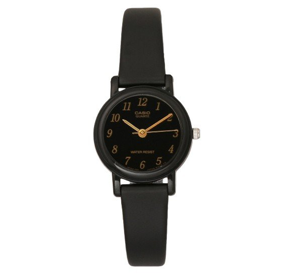 Casio LQ-139AMV-1LDF Analog Black Rubber Strap Womens Watch