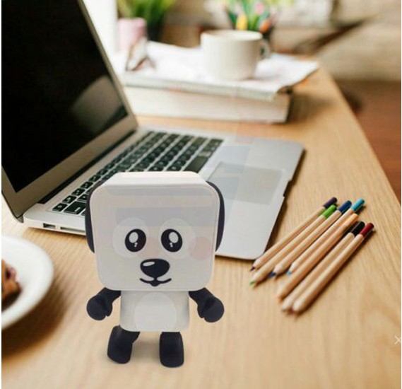Dog Shape Robot Dancing Electronic Bluetooth Wireless music Speaker