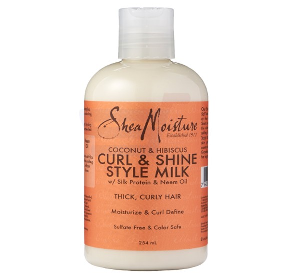 Sheamoisture Coconut and Hibiscus Curl and Style Milk 254ML