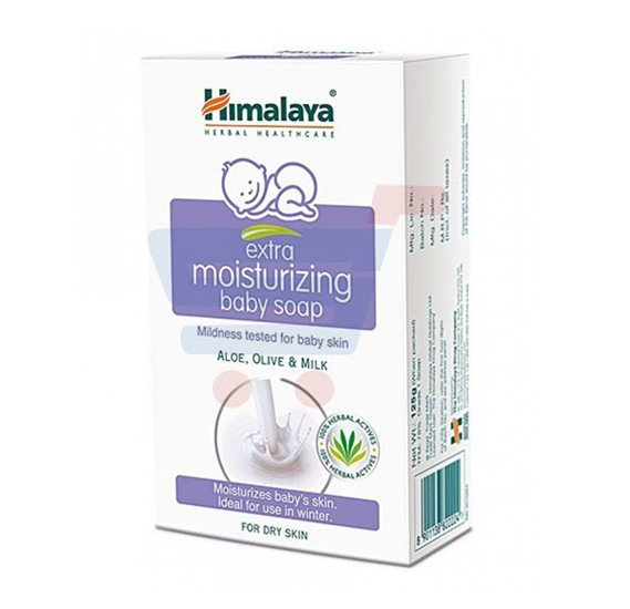 Himalaya Moisturizing Baby Soap With Aloe Vera 125 gm