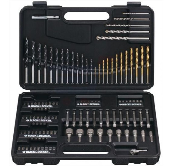 Black & Decker 109 Piece Mixed Accessory Set, A7200-XJ