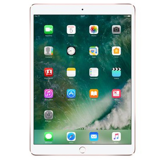 Apple Ipad Pro 10.5 Inch 4G Tablet, iOS 11, 4GB RAM, 512GB Storage, Dual Camera, Activated 2017 - Rose Gold