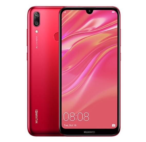 Huawei Y7 Prime 2019 , Coral Red