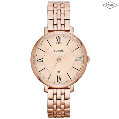 Fossil Casual Stainless Steel Band Watch For Women - ES3435