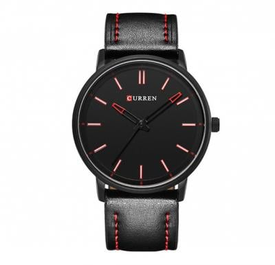 Curren 8233 Watch For Men Leather Strap
