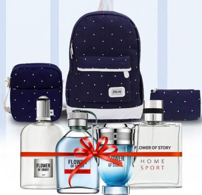 2 in 1 Bundle Pack Flower of Story Perfume gift set, 25ml x 4 Piece, PCP01 With Jig PIn 3 Combo Pack Ladies Bags