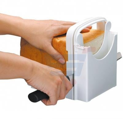 Bread Loaf Toast Sandwich Slicer Cutter Maker Kitchen Guide Slicing Tools