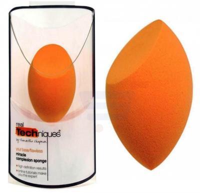 Real Techniques Miracle Complexion Original Sponge and Makeup Blender-Orange