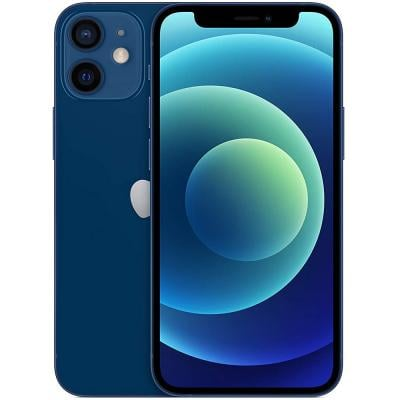 Apple iPhone 12 Mini With FaceTime Blue, 128GB Storage, 5G