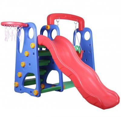 Toys 4 u 3-In-1 Swing And Slide With Basketball Game set