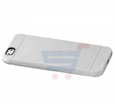 Promate Flexi i6 iPhone Case, Flexible Rubberized Anti Slip Case for iPhone 6/6s, White