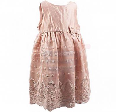 Amigo 7  Children Dress  Pink Champagne - 6-9M - 1298