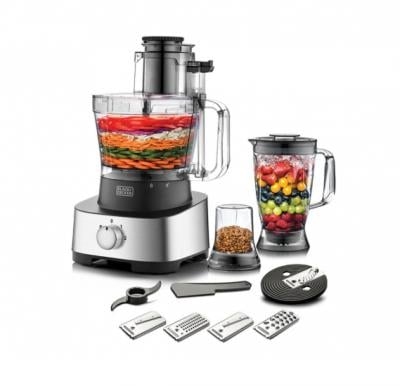 Black and Decker 1000 W Food Processor With Juicer - 41 Functions, FX1050-B5