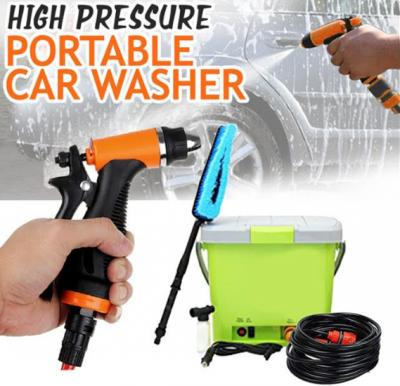 High Pressure Portable Car Washer With Power Adapter, HNR1209