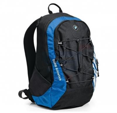 BMW Athletics Rucksack Sport Backpack Royal Blue