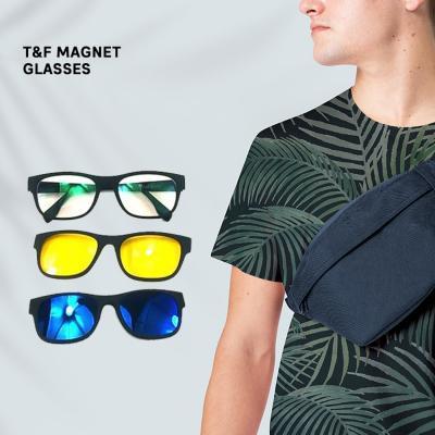 T&F Magnet Glasses