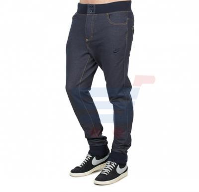 Mens DENIM Designer Trouser Black - 5221 - S