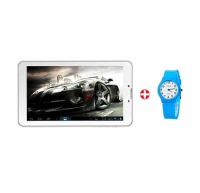 BSNL Penta T-Pad P-03 7 inch Tablet, 3G, 1GB RAM, 8GB Memory, Dual Camera, Wifi and get a Watch FREE