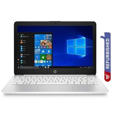 HP Stream 11 Notebook, 11.6 Inch Display, Celeron N4000 Processor, 4GB RAM 32GB eMMC Storage, Win10, Refurbished
