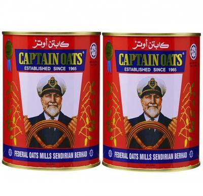 Captain Oats 500 Gram - 2 Pieces