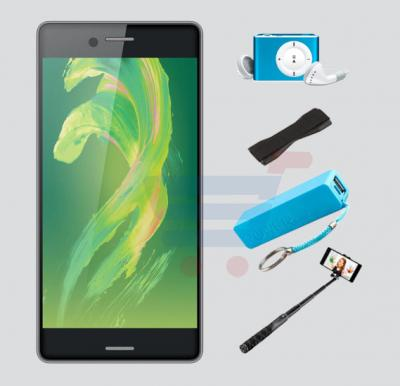Bundle Offer Discover X Smartphone, 4G, 2GB RAM, 16GB Storage, Get MP3 Player, Power Bank, Selfie Stick And Mobile Grip Free - Black