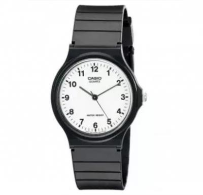 Casio Analog Mens Watch Black, MQ-24-7BLDF