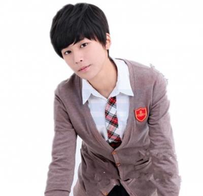 Korean Lover Style Men Cool Fluffy Short Curly Wig, BSM-5