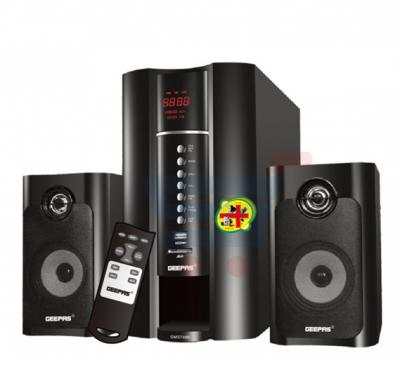 Geepas 2.1-Channel Home Theater System, GMS7493N with Acoustic Equalizer