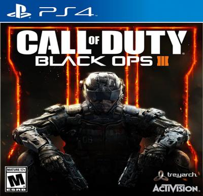 Activision Call of Duty Black Ops III For PS4