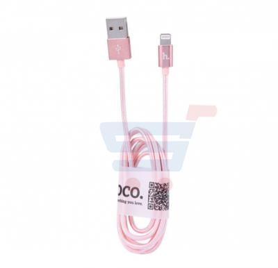 Hoco Fast Charging Cable For UPL05 Apple Device-Pink