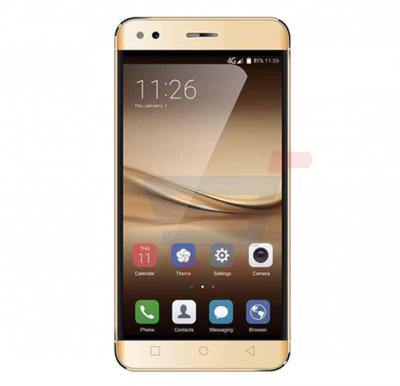 Lenosed F9 Smartphone 4G LTE, Android 6.0 Marshmallow, 5.5 inch HD Display, 2GB RAM, 16GB Storage,Dual Camera, WiFi, FM, Bluetooth- Gold