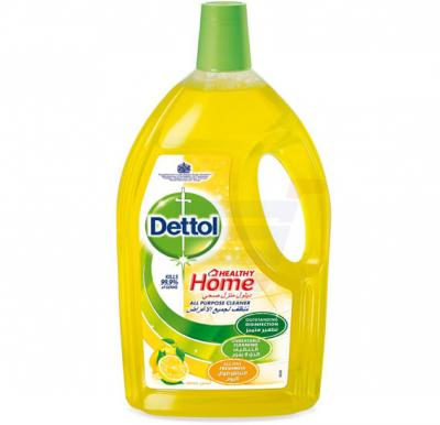 Dettol Healthy Home Lemon Fragrance All Purpose 4 in 1 Multi Action Cleaner 1.8L