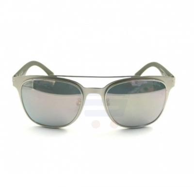 Police Oval Silver Frame & Mirror Mirrored Sunglasses For Unisex - SPL356-581P