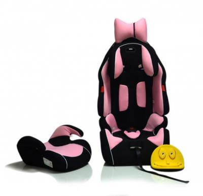 Car Seat F1 Style with Booster & Safety Belt CR-3