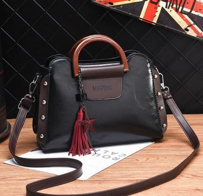 2020 New Style Joker Fashion Diagonal Crossbody Bag Black