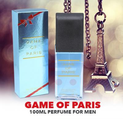 Game Of Paris 100ml Perfume For Men