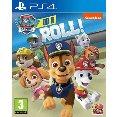 Paw Patrol On a roll Game For PlayStation 4