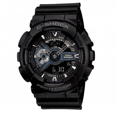 Casio G-shock Digital Analog Watch, GA-110-1BDR