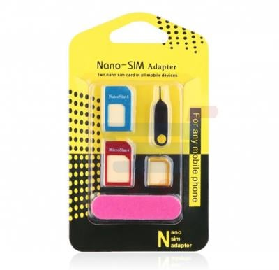 Nano SIM adapter for all Smartphones